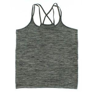 Nike Womens Dri-FIT Knit Running Tank Top Black
